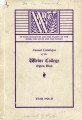 1926-1927 Catalogue of the Weber College