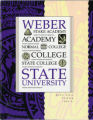 1990-1991 Weber State College Catalog